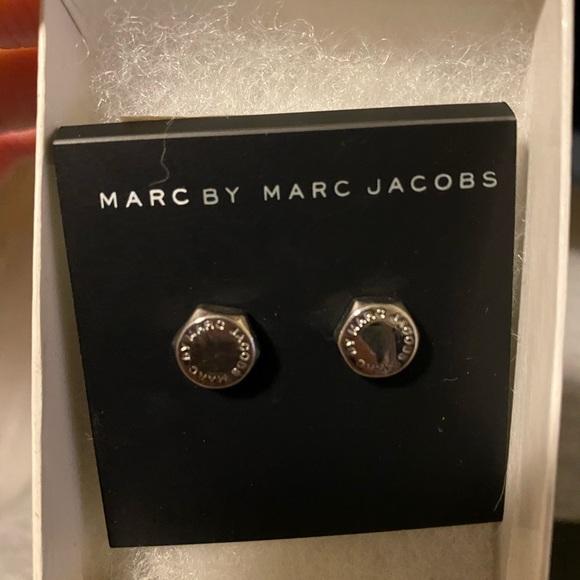 Marc Jacobs bolt nut studs earrings